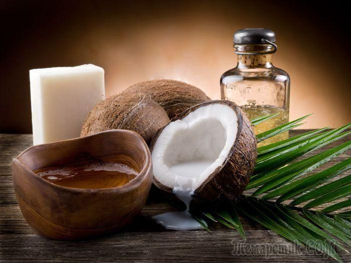 Использование кокосового масла для волос и кожи