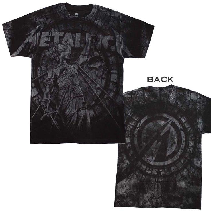 Metallica Stone Justice T-Shirt