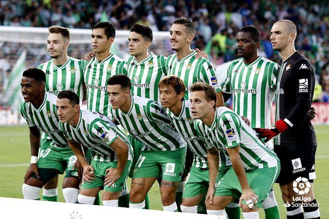 Real Betis Balompie Temporada 2018 19 Loren Aissa Mandi Marc Bartra Feddal William Carvalho Y Marc Lopez Junior Andre Balompie Betis Equipo De Futbol