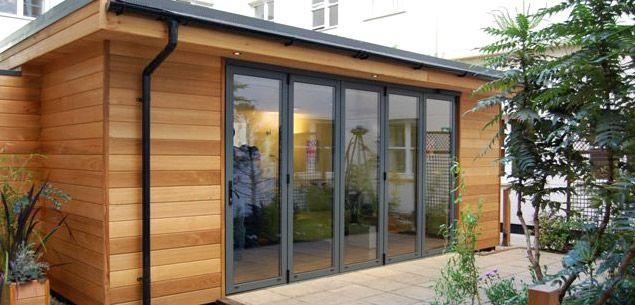 tiny home with cedar siding