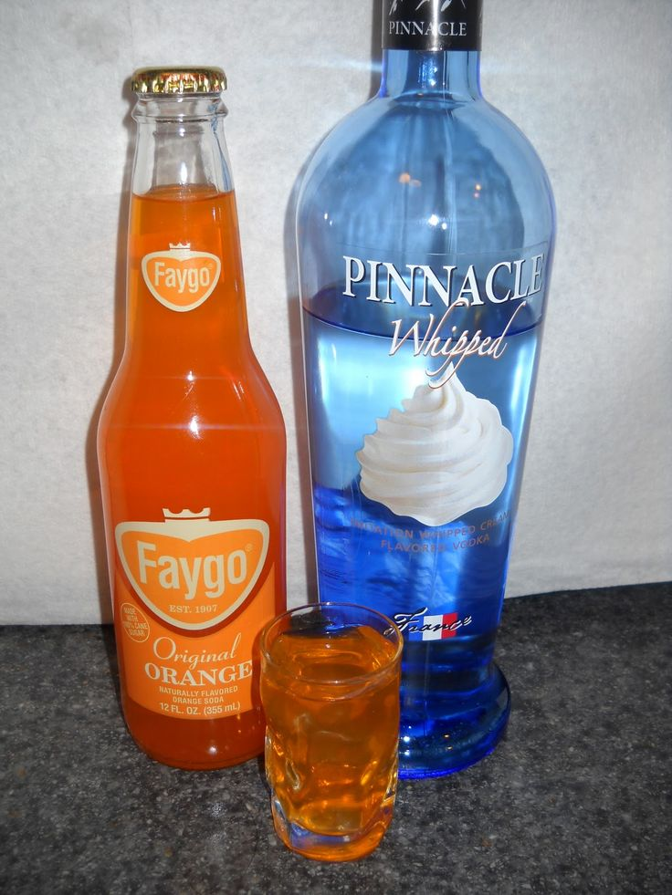 Mix a shot of Pinnacle whipped vodka in with orange soda and