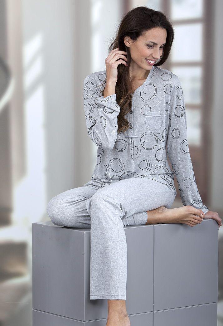 Pijama mujer en viscosa Massana