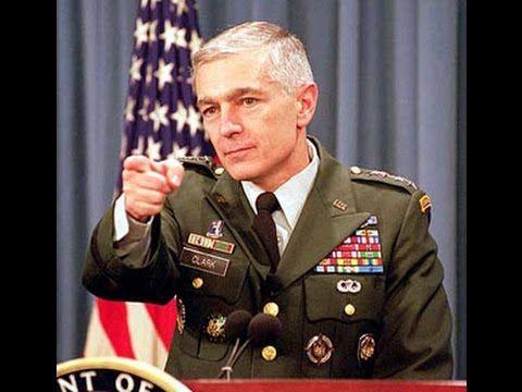 """L'incredibile Confessione di Wesley Clark: """"Guerre é Terrorismo architet..."""
