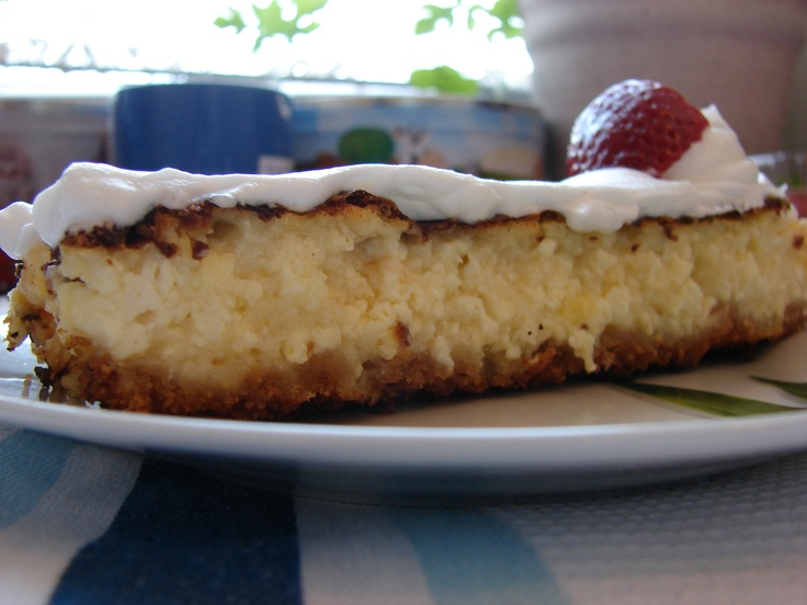 cottage-cheese cake