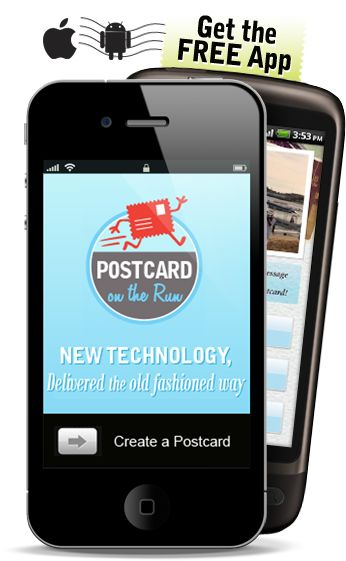 Imagine snapping a photo with your iPhone and instantly sending it as an actual postcard to friends or family - a real keepsake they can hold close to their heart, put up on the fridge or display at work. Now it's easy - no buying stamps, printing, or searching for a mailbox. Just snap, tap and send