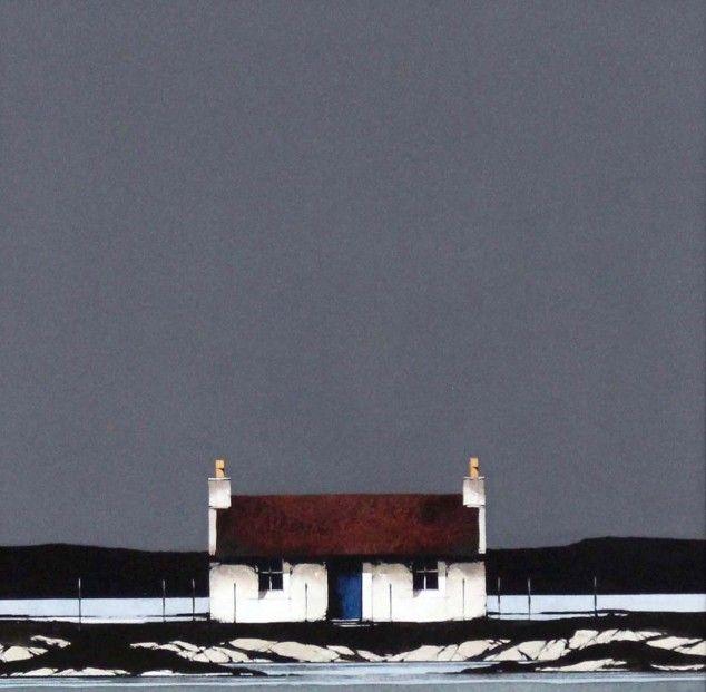 Ron Lawson, Ardmhor, Barra, Watercolour and Gouache | Scottish Contemporary Art