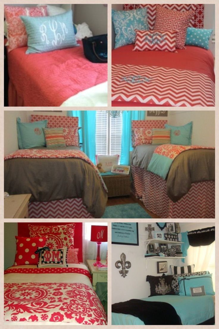 Decorating Ideas > Like The Colors Black White Teal & Pink  Dorm Room  ~ 152254_Dorm Room Ideas Teal
