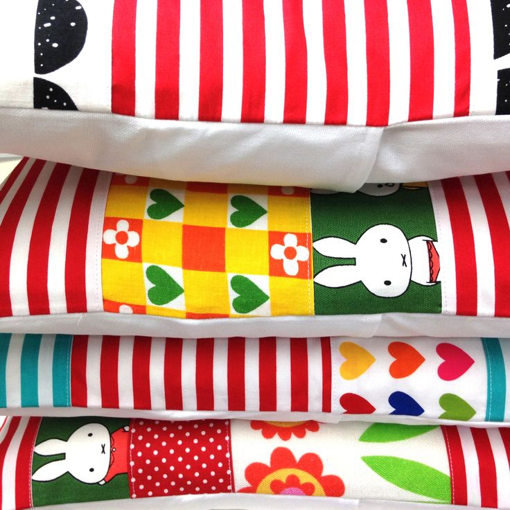 Handmade Miffy cushions