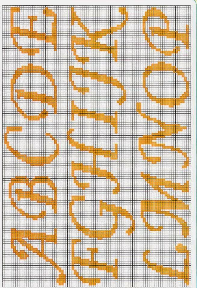 Ateliê Ponto & Patch: Monogramas em Ponto Cruz                                                                                                                                                      Mais