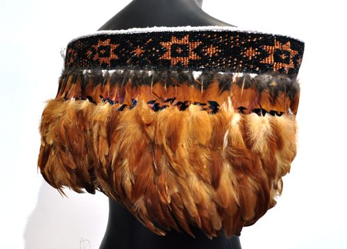 Robin Hill Kura Gallery Maori Art Design New Zealand Aotearoa Weaving Arapaki Shoulder Cloak Cape Matariki Taniko