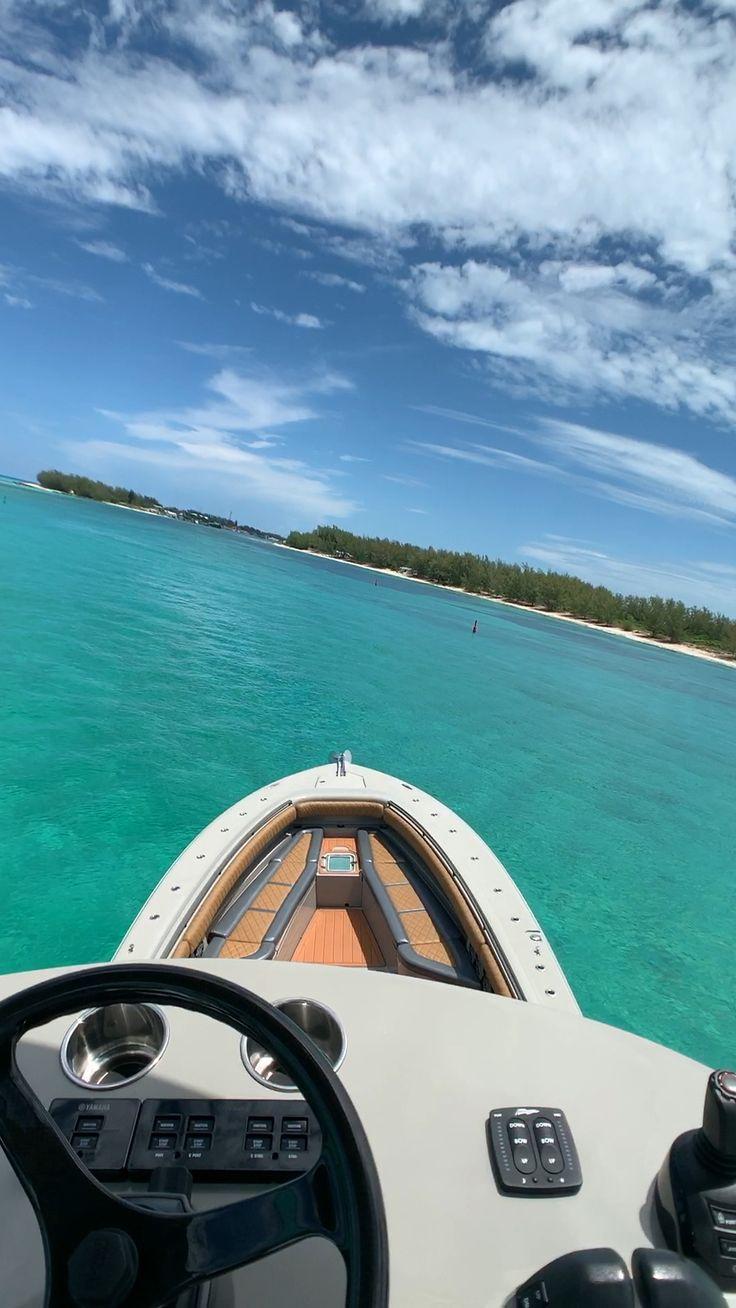 Cruising into Bimini on HCB Yachts 53 Suenos