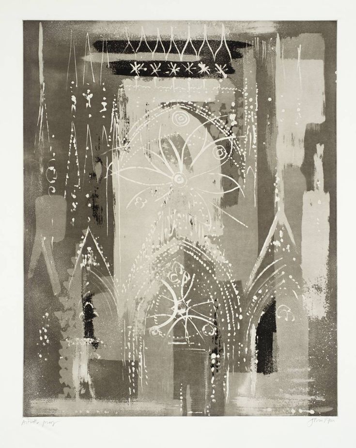 ✽   john piper  -  'rheims cathedral'   -  1972