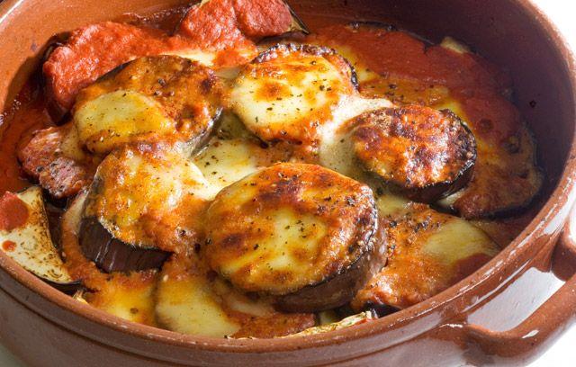 Auburgine Parmigiano