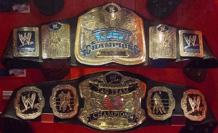Old WWE Championship Title | Unified WWE Tag Team Championship (2010-Present)