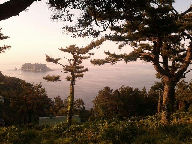 올레6코스 삼매봉에서 바라본 풍경입니다. #문자 강상기님