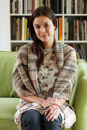 Caramel Tweed Shawl- simple shawl for the novice crocheter