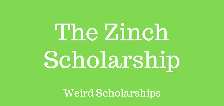 Students who are planning to attend college usually wonder where they can find scholarships to support their education. Sometimes, these scholarships turn up in the most unlikely of places. The Zinch scholarship began as the brainchild of Princeton University students. Through the zinch website, students who encountered financial problems during their degree programs could apply
