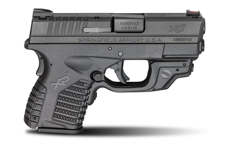 Springfield Armory XD-S® 3.3″ Single Stack 9mm Crimson Trace
