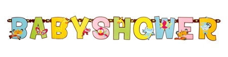 Fisher Price Baby Shower Party Supplies-Party City Banner $5.99