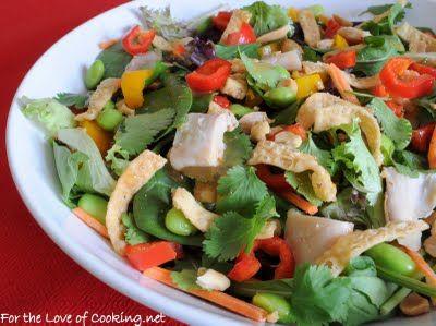 Thai Chicken Salad: Thai Chicken Salad, Thai Beef, Asian Recipes, Salad Recipes, Chicken Salads, Asian Salad, Thai Salad, Chicken Salad Recipe, Tofu Salad