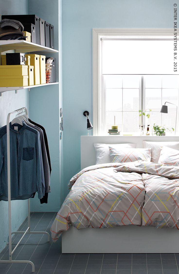 Malm bedframe met opbergruimte zwartbruin products beds and met - Loft bed met opbergruimte ...