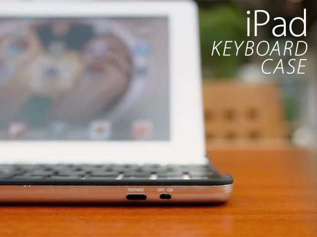 Type Faster Than Ever With This iPad Keyboard Case Combo - Instantly be More Efficient & Organized!