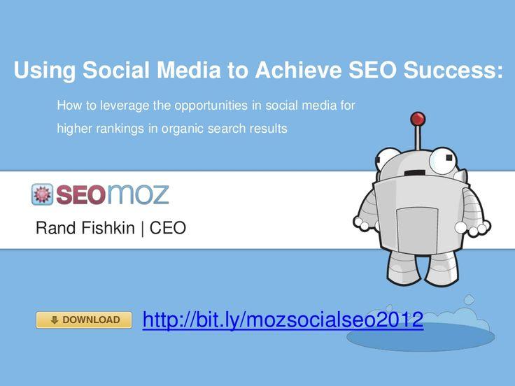 Social Media for SEO - SEOMoz
