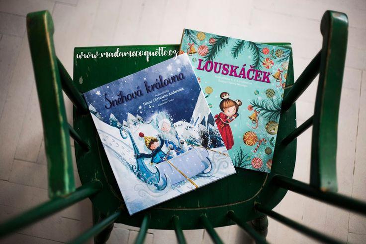 Dnes si u nás můžete zalistovat dvěma krásnými knihami se zimní tématikou - klasickými příběhy Sněhová královna  (H. Ch. Andersen) a Lo...