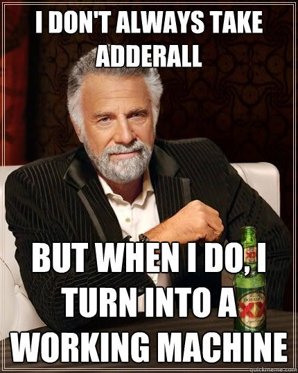Side Effects Of Adderall