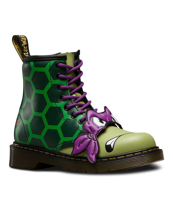 Look what I found on #zulily! Dark Green Donnie Boot - Toddler & Boys by Dr. Martens #zulilyfinds