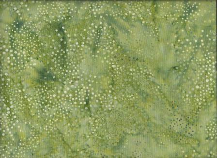 CLR - 015 Green and Cream Spot #bone #celery #cream #green #light-green