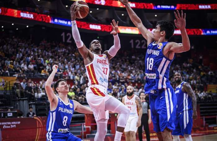 Fiba World Cup Angola Seal First Win In Thriller Against Philippines In Pictures World Cup National Basketball League Fiba Basketball