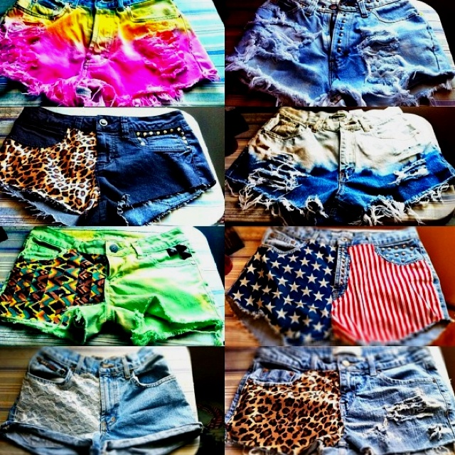 Shorts... in all variations!!! Whooaaaaaaa.