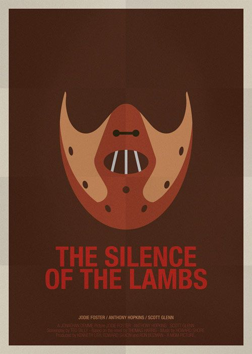 thesilenceofthelambs movieposter in Powerful Examples of Famous Movie Posters