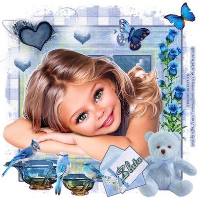 """MI RINCÓN GÓTICO: CT FOR DANIELA E DESIGNS, """"Blue Girl"""""""