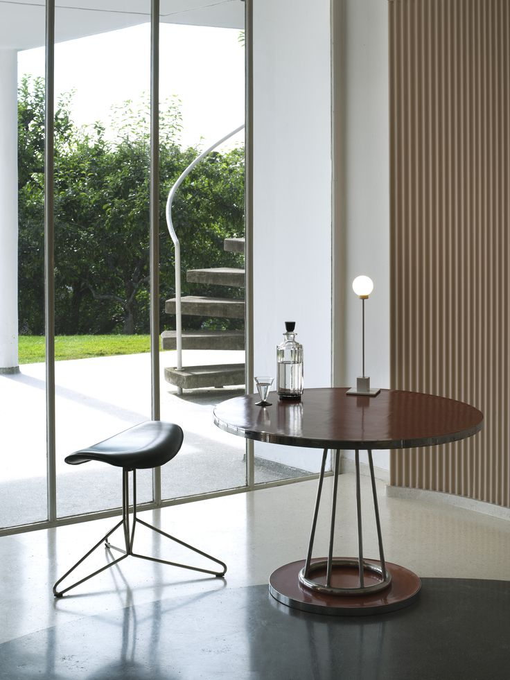 """Snowball is constructed in metal, with a """"snowball"""" shape in frosted glass for a lampshade."""