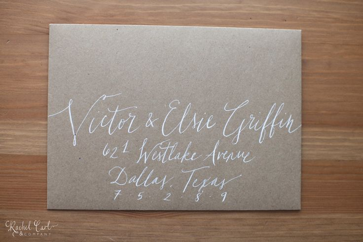Addressing save the dates