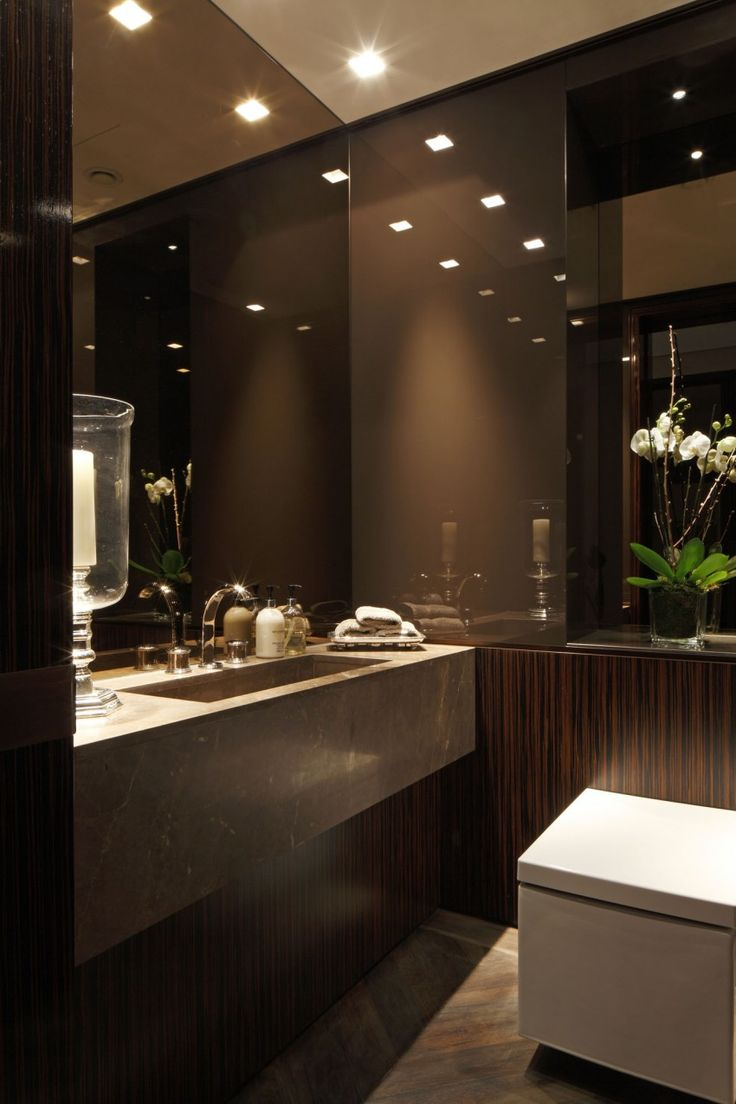 Чудесный дизайн интерьера санузла в квартире