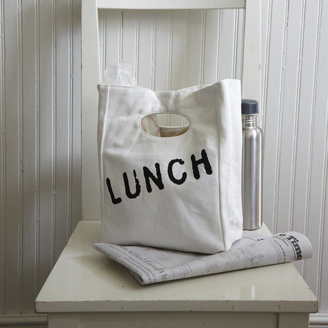 Organic Cotton Lunch Bag - $19