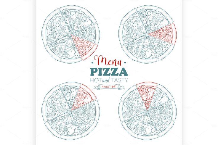69 besten Menu Bilder auf Pinterest | Pizza logo, Pizza branding und ...