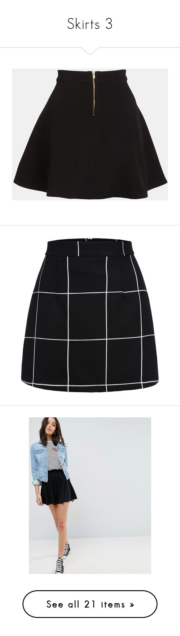 """""""Skirts 3"""" by nelly-vasquez ❤ liked on Polyvore featuring skirts, bottoms, pants, black, ponte circle skirt, ponte skirt, flared skirts, circle skirts, parker skirt and mini skirts"""