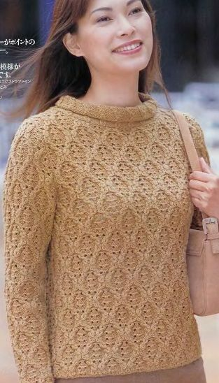Knitted pullover - Russian, use Google Chrome to translate