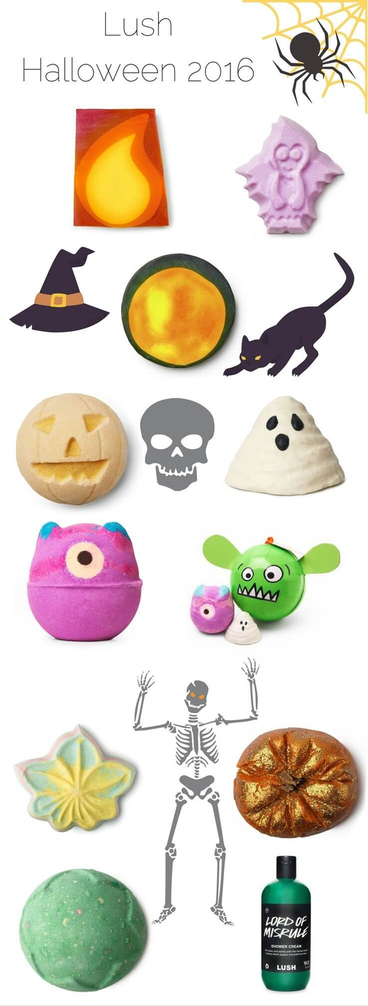 Lush Halloween 2016 Launches With Spooky Treats!