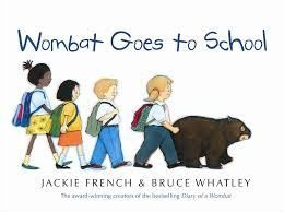 Wombat Goes to School by Jackie French and Bruce Whatley Last week we had some reviews for holiday reads. This week from the number of people filling their stationary lists at the local shops I believe we are now focused…