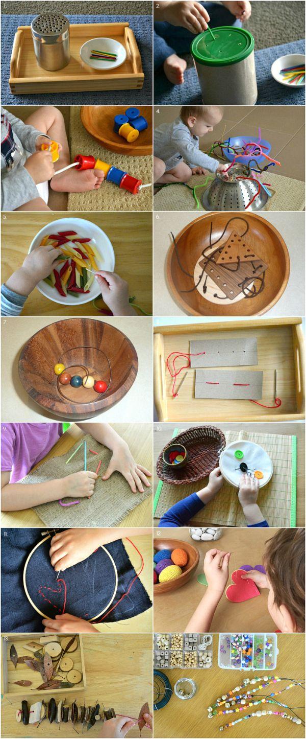 Threading Activities for 12 months to 4 Years