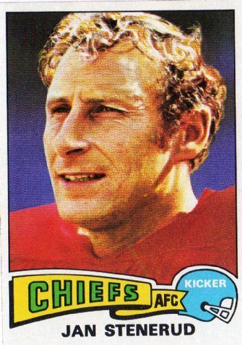 Jan Stenerud - 1975 Topps #488