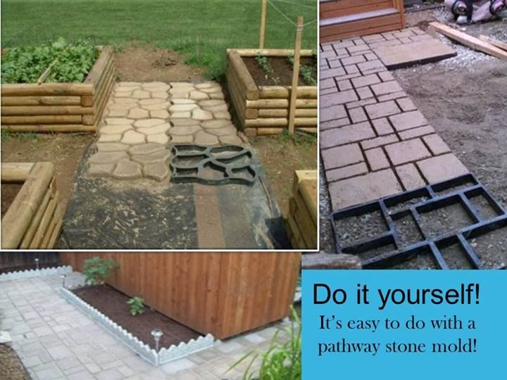 17 best images about walkways on pinterest concrete for Removing concrete walkway