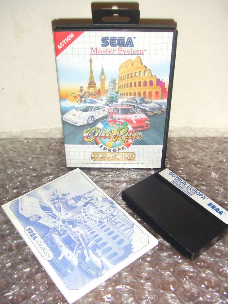 OUTRUN EUROPA - SEGA Master System - PAL - Come Nuovo