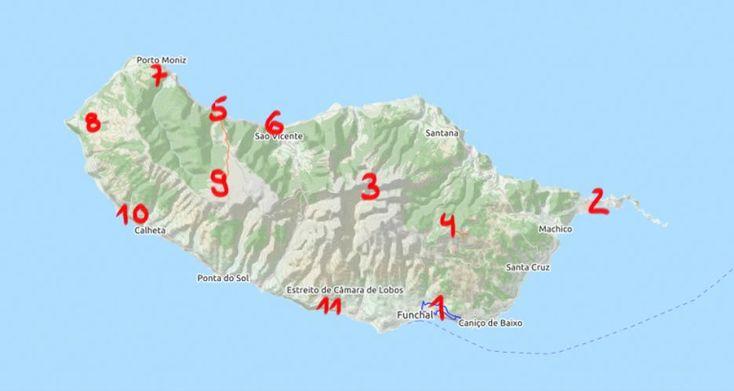 Madeira Sehenswürdigkeiten | Waldspaziergang.org