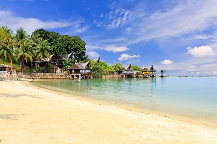 Batam Beach, Indonesia.